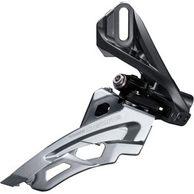 Shimano Deore MTB FD-M6000 Forskifter 3x10-speed Side Swing Direct Mount høj, black